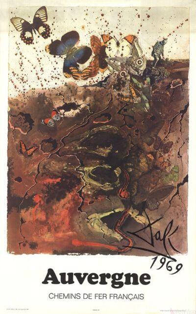 Salvador Dalí, 'Auvergne', 1970