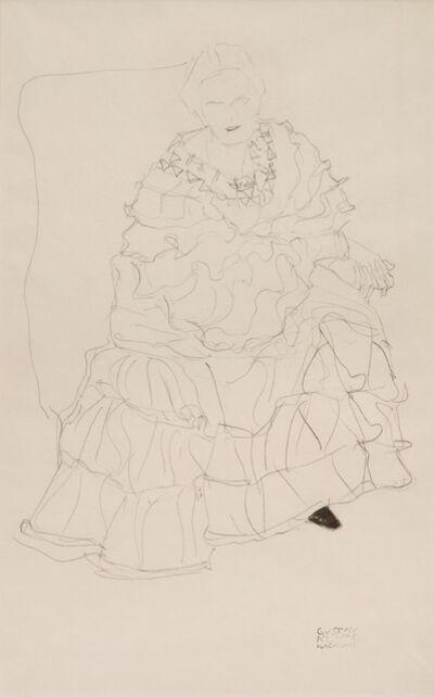 Gustav Klimt, 'Study for an Unrealised Portrait of Magda Mautner-Markhof', 1904-1905