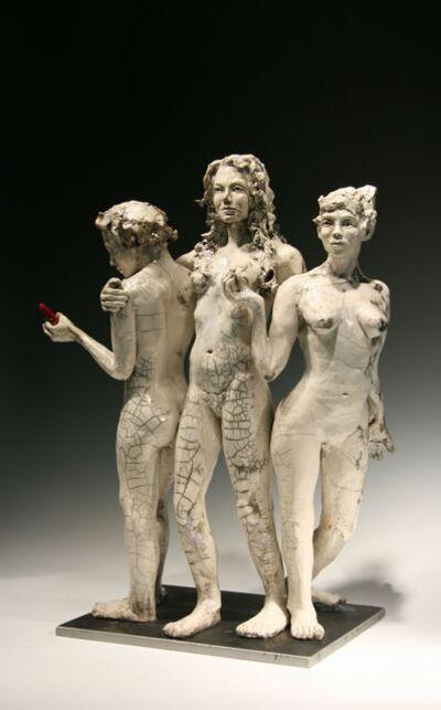 BOB CLYATT, 'Three Graces with Smartphone', 2012