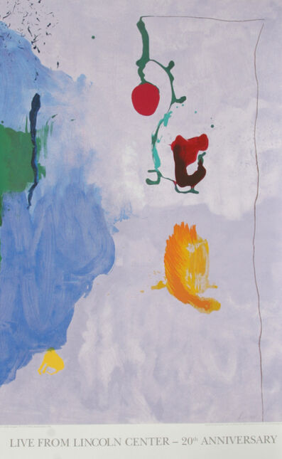 Helen Frankenthaler, 'Live from Lincoln Center, 20th Year (Eve)', 1995