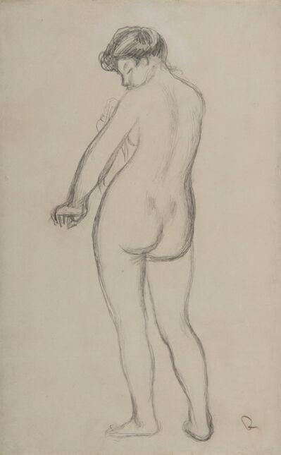 Pierre-Auguste Renoir, 'Baigneuse de dos s'essuyant', Unknown