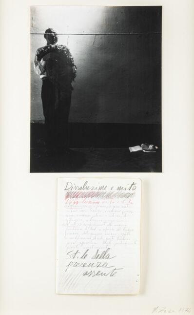 Michele Zaza, 'Dissoluzione e mito', 1974