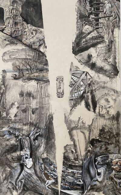 Zhong Biao 钟彪, 'The Changing Landscape', 2020