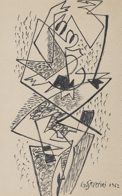 Gino Severini, 'Mouvement de danse'