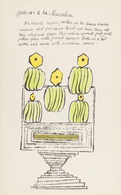 Andy Warhol, 'Gardoons à la Mousseline (from Wild Raspberries) (see Feldman & Schellmann IV.140.A)', 1959