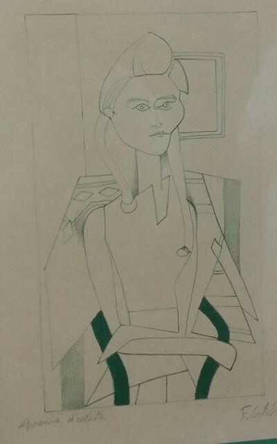 Françoise Gilot, 'Infus d'amour, 1957 - Original handsigned lithograph', 1957