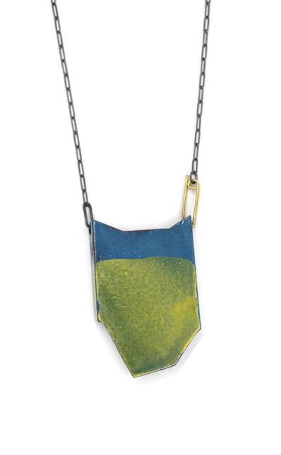 Kat Cole, 'Blue & Orange Folded Necklace ', 2017