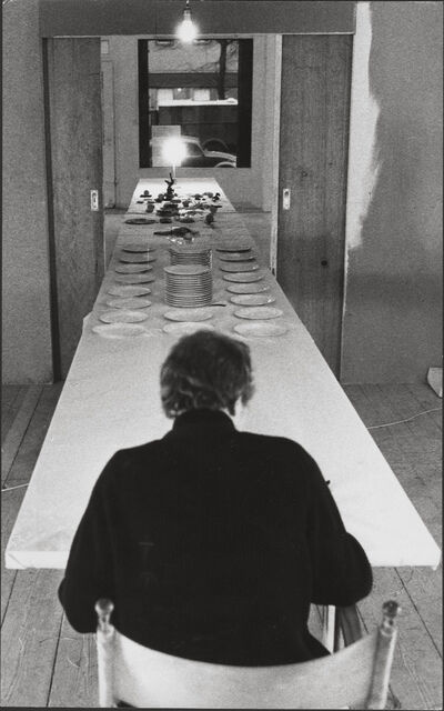 "Stuart Brisley, 'Photograph of the performance ""10 Days""', 1973"