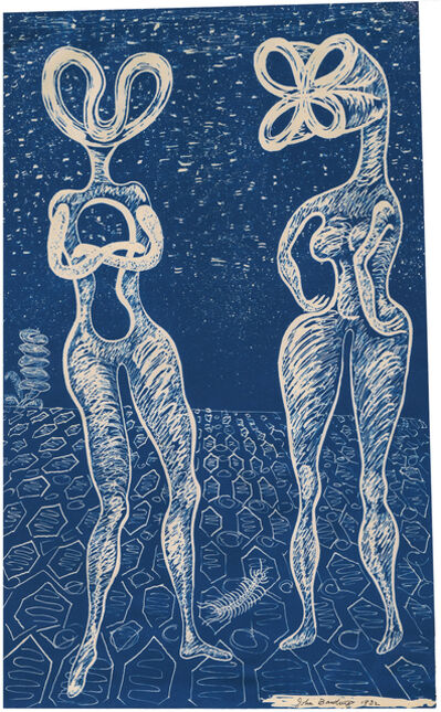 John Banting, 'Untitled (Album of 12 Blueprints)', 1931/32