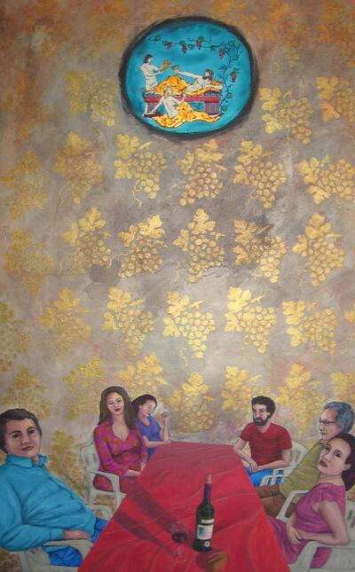 Rim El Jundi, 'In the Shadow of Bacchus', 2016