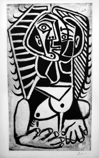 Pablo Picasso, 'L'Égyptienne', 1953