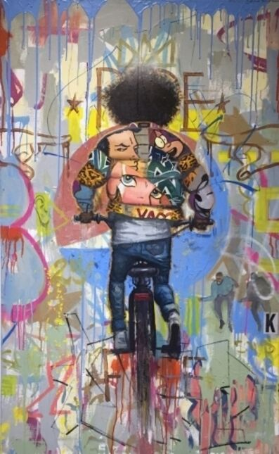 Frank Morrison, 'Pop a Wheelie', 2015