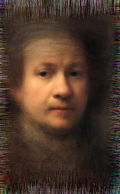 Nachev, 'Reflection - All of Rembrandt's self-portraits', 2014