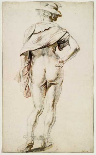 Jacob Jordaens, 'Mercury seen from behind'