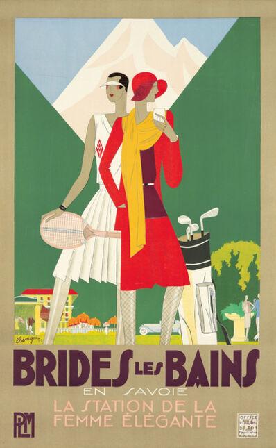Léon Benigni, 'Brides les Bains.', 1929
