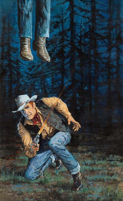 Victor Kalin, 'Killer's Trail Illustration', 1963