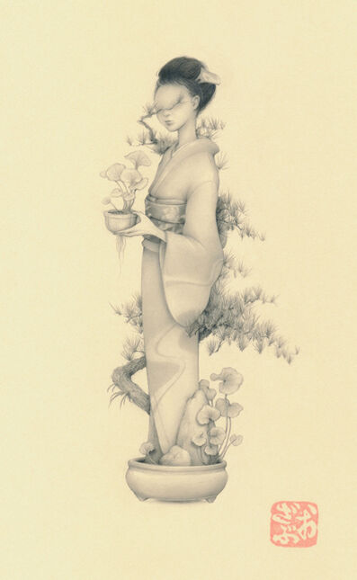 Ozabu, 'Bonsai Girl 文人 (Bunjin)', 2019