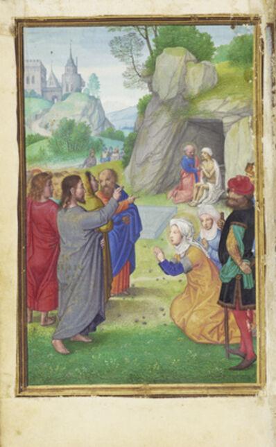 Simon Bening, 'The Raising of Lazarus', 1525-1530