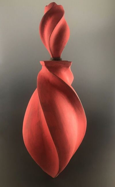 Peter Cunicelli, 'Red Swirl Bottle', 2019