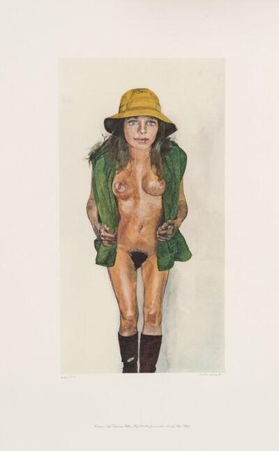 Peter Blake, 'Costume Life Drawing - Yellow Hat', 1982
