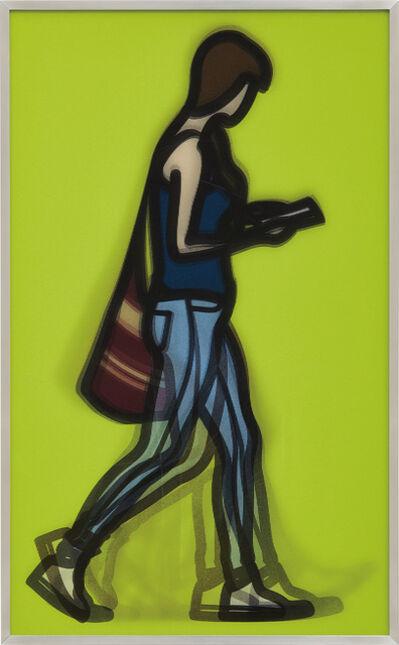 Julian Opie, 'Waitress, from Walking in London', 2014