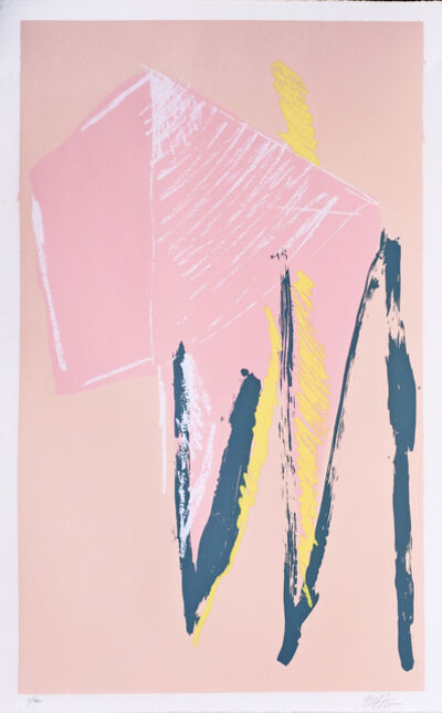 Michael Steiner, 'Bathers or Pink Silkscreen', 1980