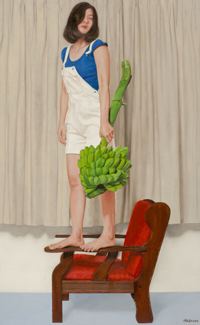 Chong Ai Lei, 'Girl With Bananas', 2019