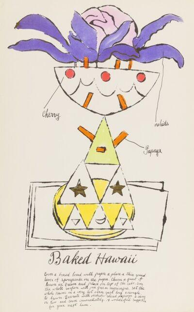 Andy Warhol, 'Baked Hawaii (from Wild Raspberries) (see Feldman & Schellmann IV.137.A)', 1959