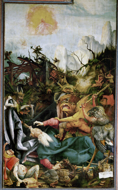 Matthias Grünewald, 'The Temptation of Saint Anthony', ca. 1512-15
