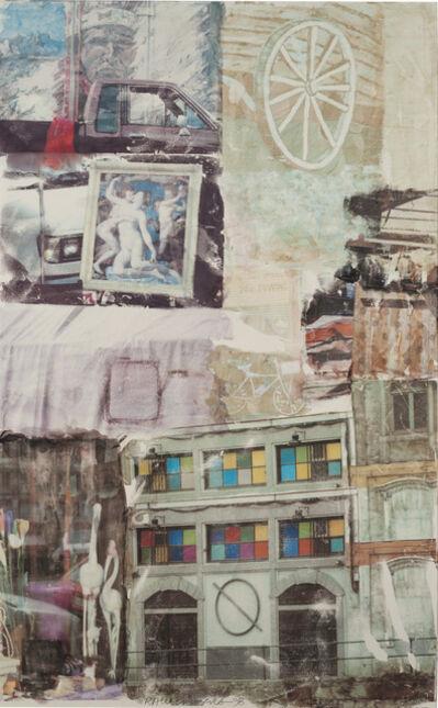 Robert Rauschenberg, 'Love Hotel [Anagrams (A Pun)]', 1998