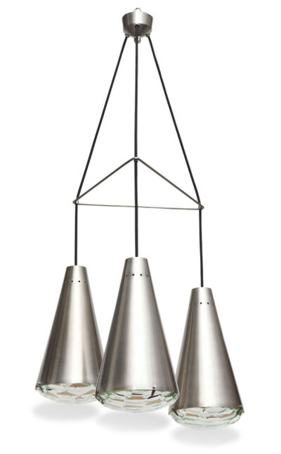 Max Ingrand, 'Rare Three-Cone Pendant No. 2126', ca. 1961