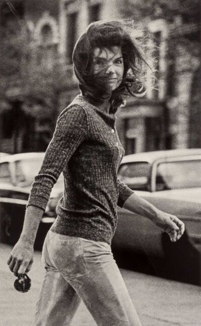 Ron Galella, 'Windblown Jackie', October 7-1971