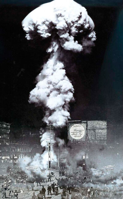 Koen Deprez, 'Nuclear Terrasse - Nebel ', 1988