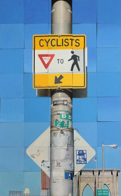 Jeff Cohen, 'Cyclists Yield', 2012