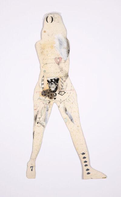 Lynn Hershman Leeson, 'Double Drawing', 1966