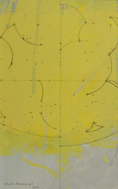 Alberto Romero, 'Geometría de ciruelas amarillas', 2017