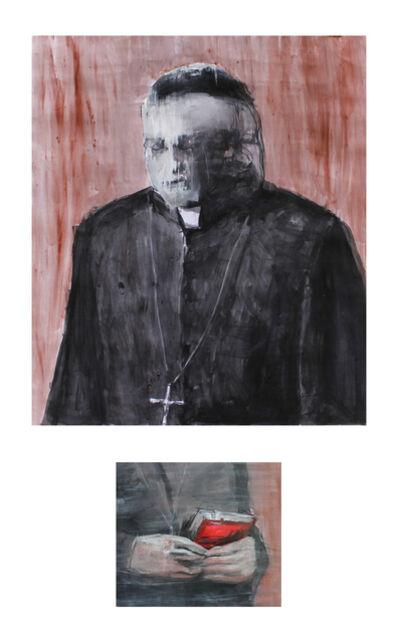 Alfredo Mendoza Bullain, 'Diptych: Confession', 2019