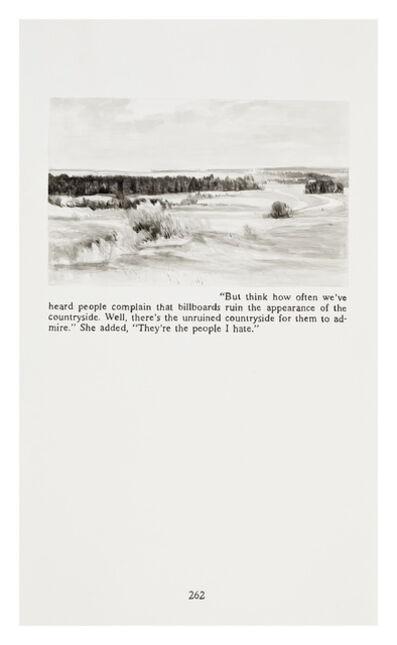 Yevgeniy Fiks, 'Ayn Rand in Illustrations (Atlas Shrugged, page 163)', 2010