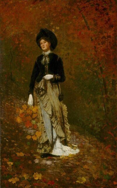 Winslow Homer, 'Autumn', 1877