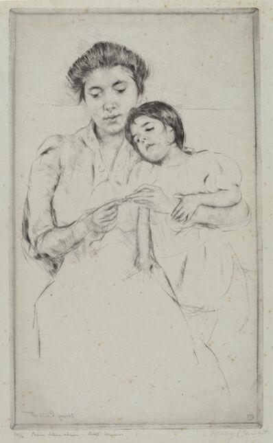 Mary Cassatt, 'The Crocheting Lesson', ca. 1902