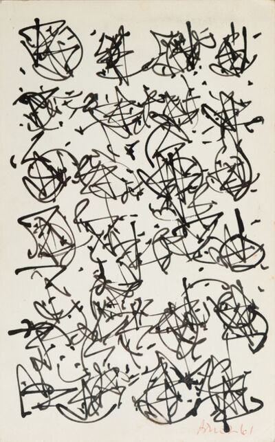 Brion Gysin, 'Magic Mushrooms   ', 1961