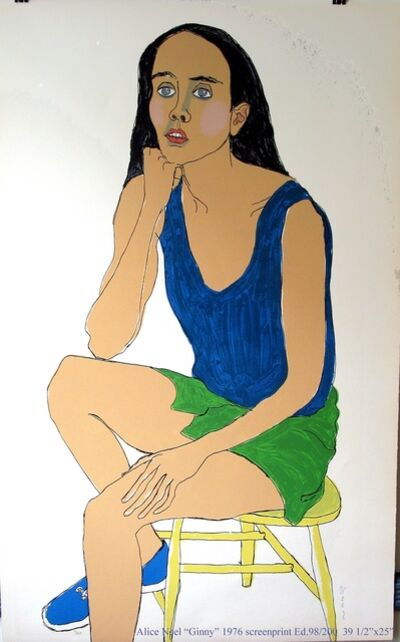 Alice Neel, 'Ginny', 1976