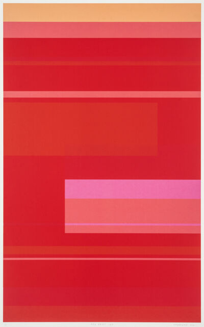Kate Shepherd, 'Red Print 16A', 2011