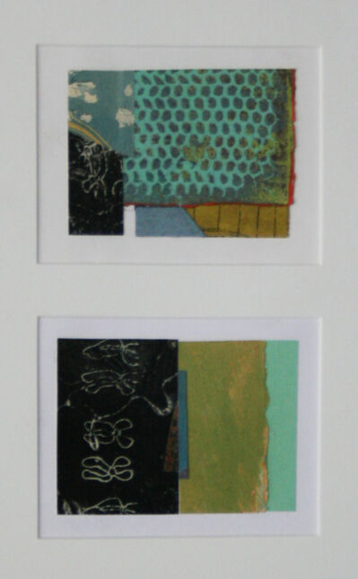 Nancy Boyd, 'Collage #61 & #62 (diptych)'