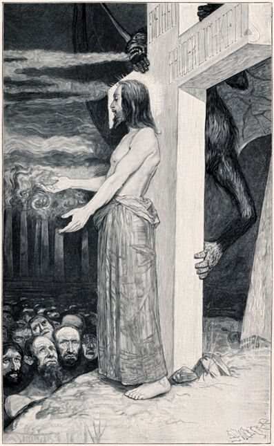 Sascha Schneider, 'Eins is Not!', 1894-1895