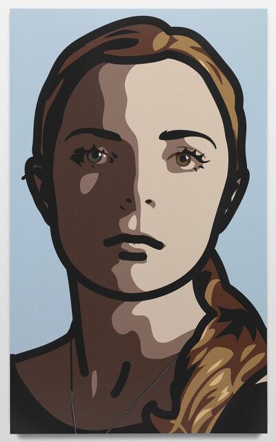Julian Opie, 'Lily, eyes straight, head straight', 2013