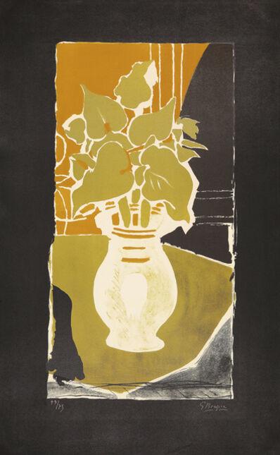 Georges Braque, 'Feuilles, couleur lumière', 1954