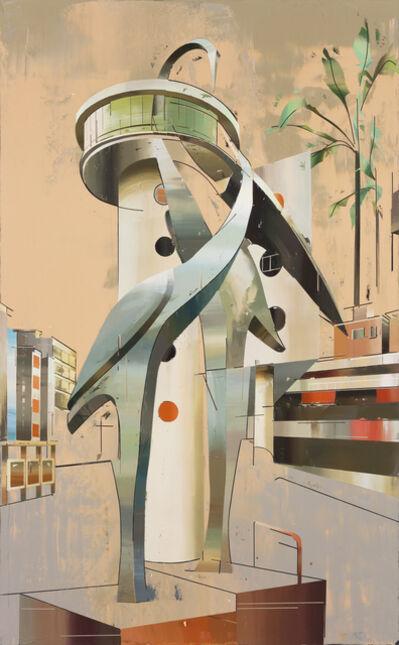Cui Jie, 'Building of Cranes #2', 2014