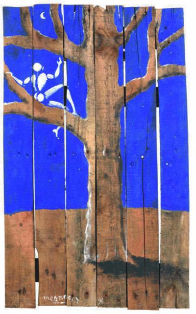 Jérôme Mesnager, 'Homme dans l'arbre', 1994