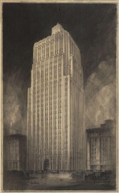 J.R. Miller & T. L. Pflueger, 'Pacific Telephone & Telegraph Co. Building', 1924